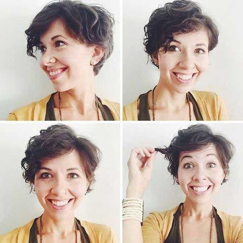 15 Pixie Cuts For Curly Hair | Short Hairstyles 2016 – 2017 | Most Pertaining To Short Hairstyles For Growing Out A Pixie Cut (View 4 of 20)