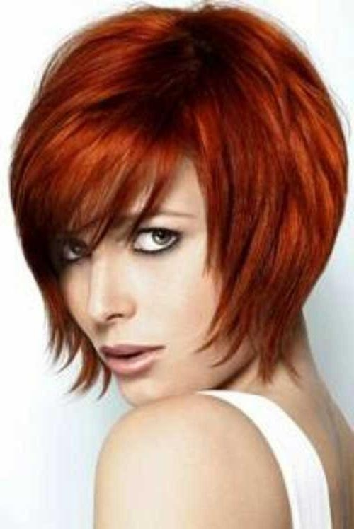 15 Red Bob Haircuts | Short Hairstyles 2016 – 2017 | Most Popular With Regard To Short Hairstyles For Red Hair (View 1 of 20)