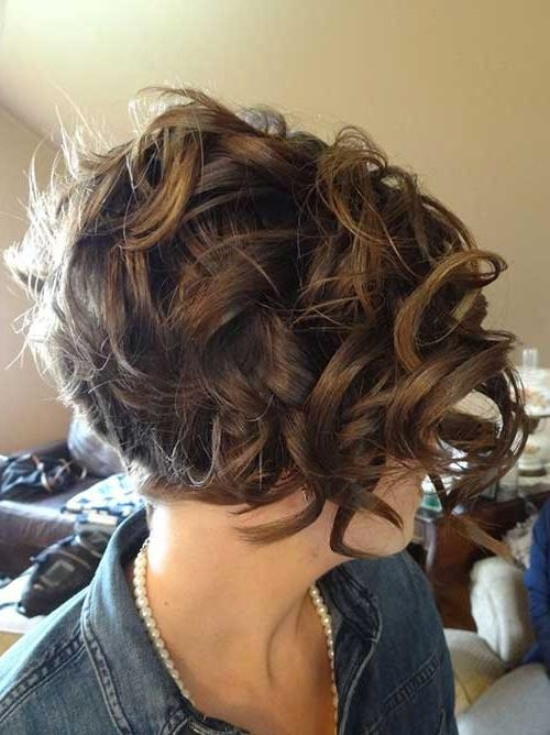 15 Short Haircuts For Curly Thick Hair | Short Hairstyles 2016 In Thick Curly Short Haircuts (View 3 of 20)