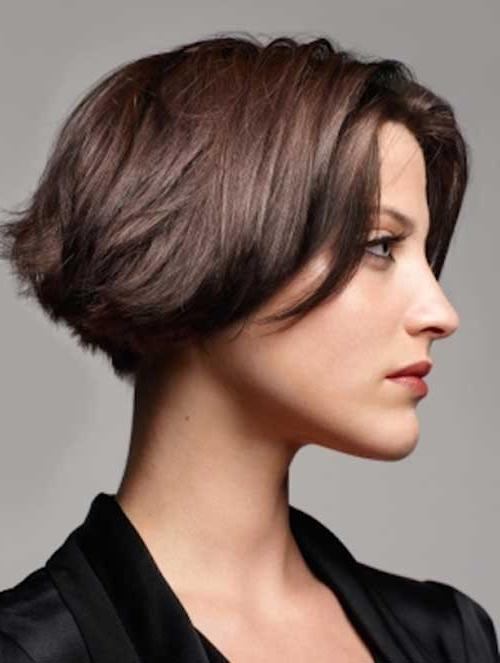 20 Inspirations of Short Haircuts For Thick Straight Hair