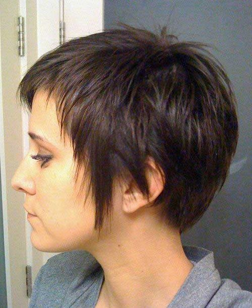 15 Short Haircuts For Thick Straight Hair | Short Hairstyles 2016 Inside Short Hairstyles Thick Straight Hair (View 4 of 20)