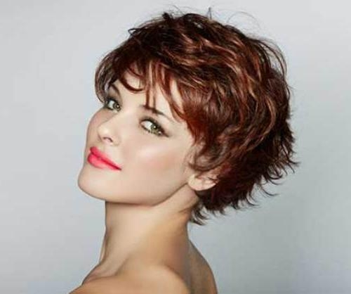 15 Short Layered Haircuts Regarding Tousled Short Hairstyles (View 13 of 20)