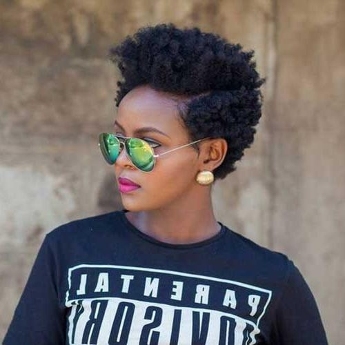 15 Short Natural Haircuts For Black Women | Short Hairstyles 2016 Inside Short Haircuts For Natural Hair Black Women (View 3 of 20)