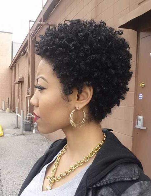 15 Short Natural Haircuts For Black Women | Short Hairstyles 2016 Regarding Short Hairstyles For Natural Black Hair (View 10 of 20)