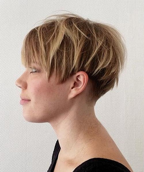 15 Short Wedge Hairstyles For Fine Hair – Hairstyle For Women Regarding Wedge Short Haircuts (View 2 of 20)