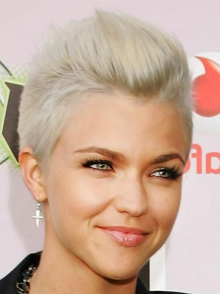 15 Super Cool Platinum Blonde Hairstyles To Try – Pretty Designs For Platinum Blonde Short Hairstyles (View 2 of 20)