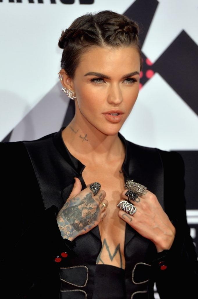 15 Times Ruby Rose Showed Us Very Different Short Hair Styles With Regard To Ruby Rose Short Hairstyles (View 12 of 20)