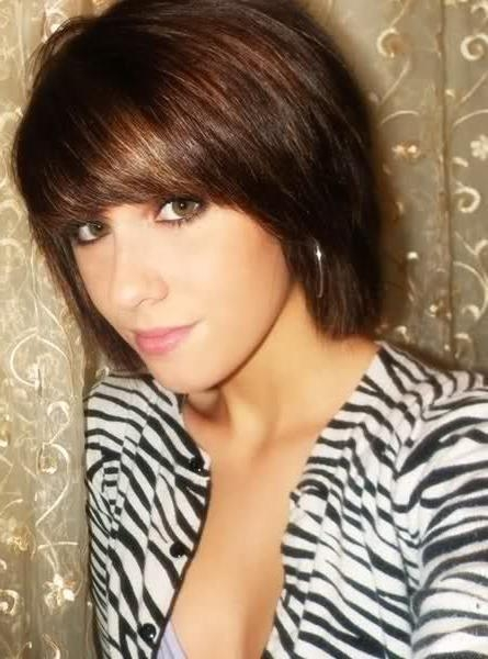 15 Ultra Chic Short Hairstyles With Bangs – Pretty Designs Inside Layered Short Hairstyles With Bangs (View 1 of 20)