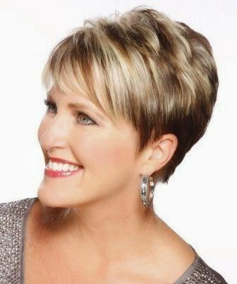 15 Youthful Short Hairstyles For Women Over 40 Pertaining To Short Hairstyles For Thick Hair Over  (View 4 of 20)