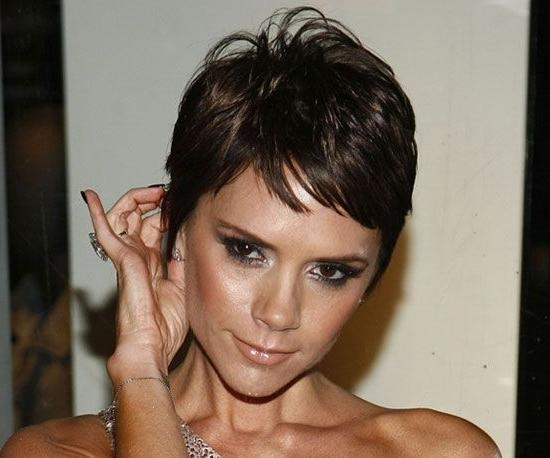 16 Best Pixie Hair Images On Pinterest | Hairstyle, Short Hair And Within Posh Spice Short Hairstyles (View 3 of 20)