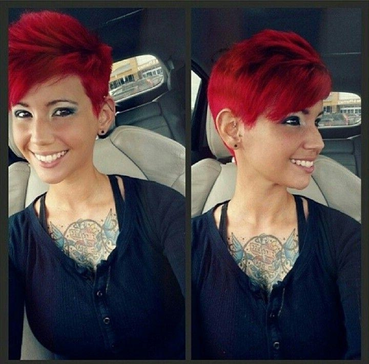 16 Best Red Head Love Images On Pinterest | Red Heads, Scripts And Throughout Fire Red Short Hairstyles (View 1 of 20)