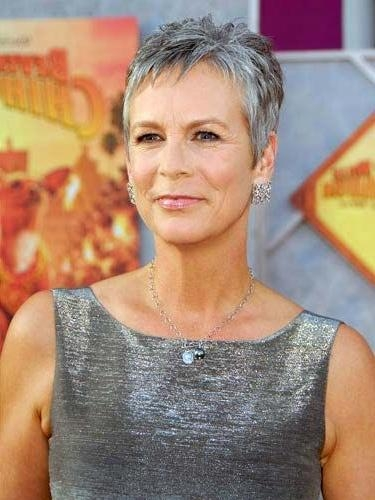 16 Celebrity Hairstyles That Will Inspire You To Go Gray | Grey For Short Haircuts For Grey Haired Woman (View 3 of 20)
