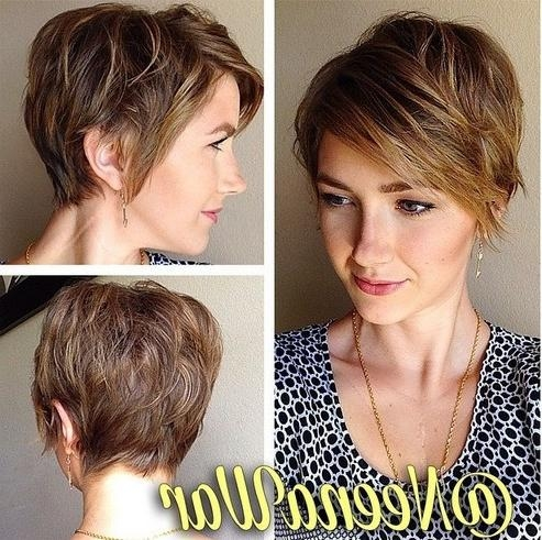 16 Fabulous Short Hairstyles For Long Face 2015 – Pretty Designs Inside Short Haircuts For Long Faces (View 16 of 20)