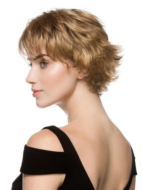 16 Sassy Short Haircuts For Fine Hair Intended For Short Haircuts For Fine Hair Oval Face (View 18 of 20)