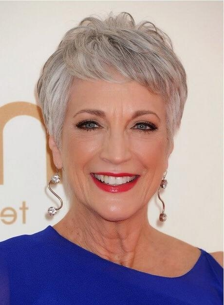 16 Stylish Short Hairstyles For Older Women Inside Short Hairstyles For Older Women (View 2 of 20)