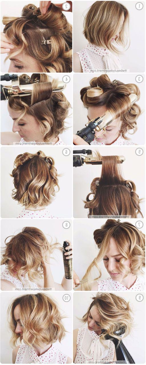 18 Gorgeous Prom Hairstyles For Short Hair – Gurl | Gurl Intended For Prom Short Hairstyles (View 6 of 20)