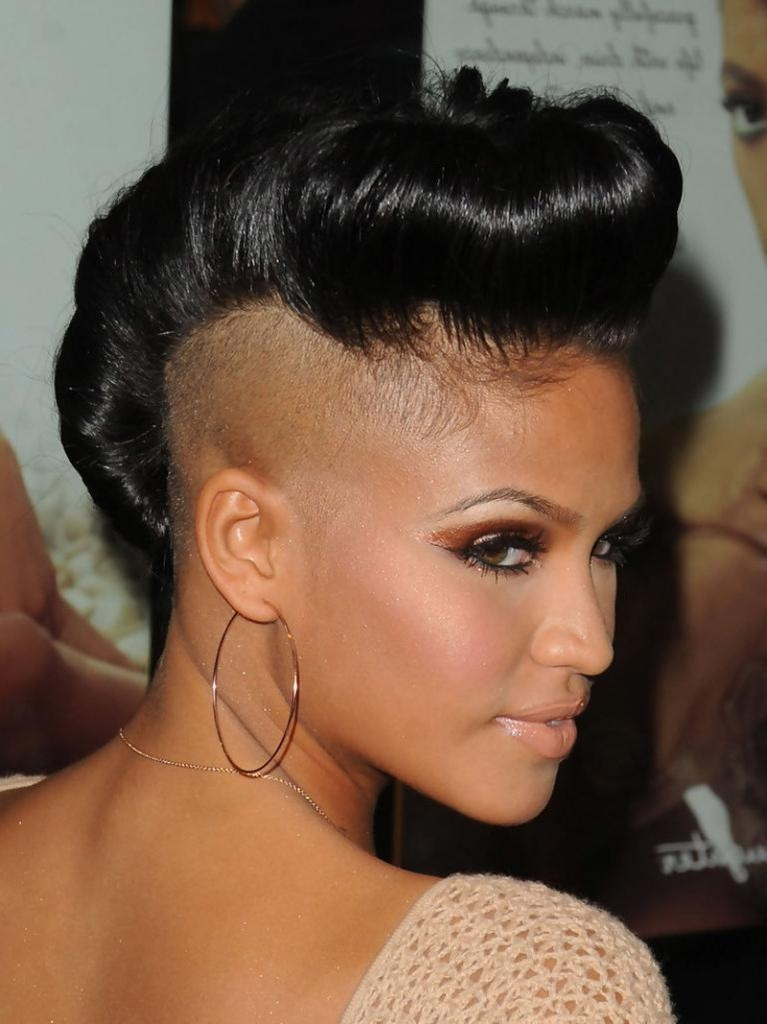 20 Badass Mohawk Hairstyles For Black Women With Regard To Mohawk Short Hairstyles For Black Women (View 6 of 20)