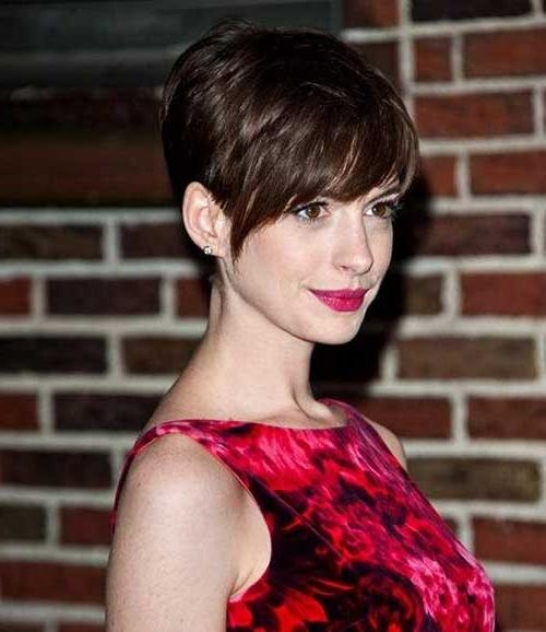 20 Best Anne Hathaway Pixie Cuts | Short Hairstyles 2016 – 2017 In Anne Hathaway Short Hairstyles (View 5 of 20)