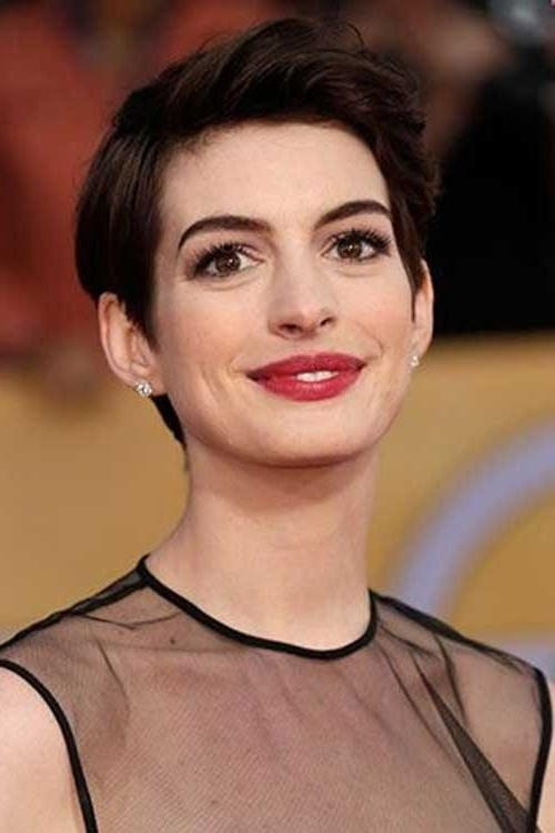 20 Best Anne Hathaway Pixie Cuts | Short Hairstyles 2016 – 2017 Pertaining To Anne Hathaway Short Haircuts (View 5 of 20)