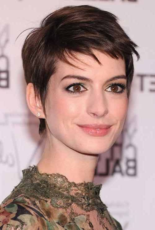 20 Best Anne Hathaway Pixie Cuts | Short Hairstyles 2016 – 2017 With Regard To Anne Hathaway Short Haircuts (View 2 of 20)