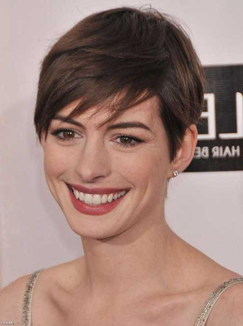 20 Best Anne Hathaway Pixie Cuts | Short Hairstyles 2016 – 2017 With Regard To Anne Hathaway Short Hairstyles (View 10 of 20)