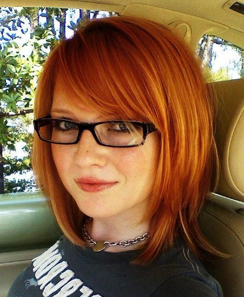 20 Best Hairstyles For Women With Glasses | Hairstyles & Haircuts With Short Haircuts With Bangs And Glasses (View 11 of 20)