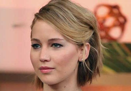 20 Best Jennifer Lawrence With Short Hair | Short Hairstyles 2016 Throughout Jennifer Lawrence Short Hairstyles (View 18 of 20)