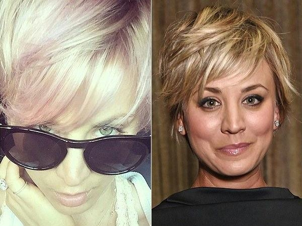 20 Best Kaley Cuoco Images On Pinterest Within Kaley Cuoco New Short Haircuts (View 4 of 20)