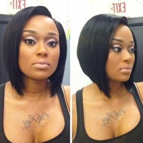 20 Cute Bob Hairstyles For Black Women | Short Hairstyles 2016 Intended For Bob Short Hairstyles For Black Women (Gallery 17 of 20)