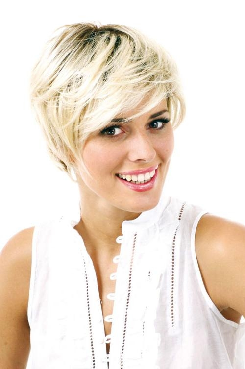 20 Cute Short Haircuts For 2012 – 2013 | Short Hairstyles 2016 Regarding Short Hairstyles For Small Faces (View 2 of 20)