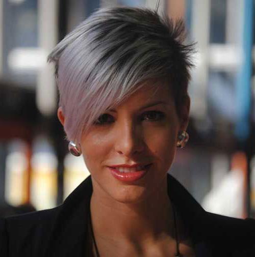 20 Good Short Grey Haircuts | Short Hairstyles & Haircuts 2017 Throughout Short Hairstyles For Women With Gray Hair (View 7 of 20)