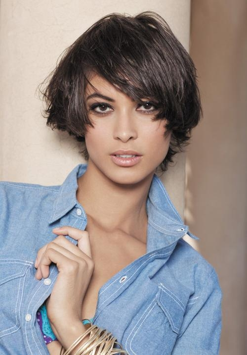20 Great Short Hairstyles For Thick Hair | Styles Weekly For Short Hairstyles Thick Straight Hair (View 10 of 20)