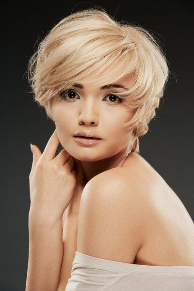 Featured Photo of Short Haircuts For Square Face