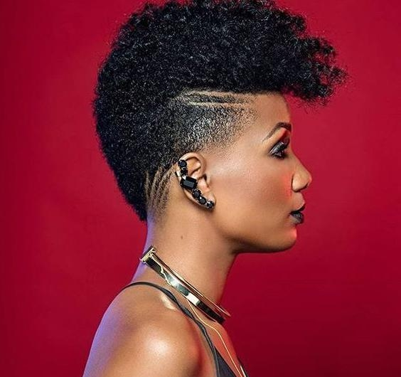 20 Inspiring Natural Short Hairstyles For Black Women (With Pictures) Intended For Black Women Natural Short Hairstyles (View 4 of 20)