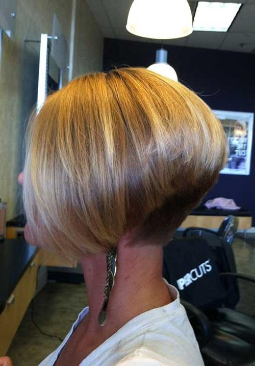 20+ Inverted Bob Haircuts | Short Hairstyles 2016 – 2017 | Most With Regard To Inverted Short Haircuts (View 8 of 20)