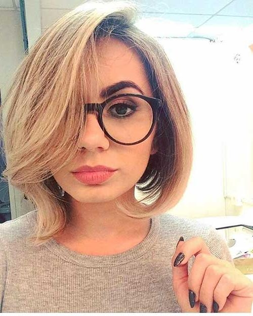 20+ Latest Short Hairstyles For Round Face Shape | Short Inside Short Hairstyles For Round Faces And Glasses (View 4 of 20)