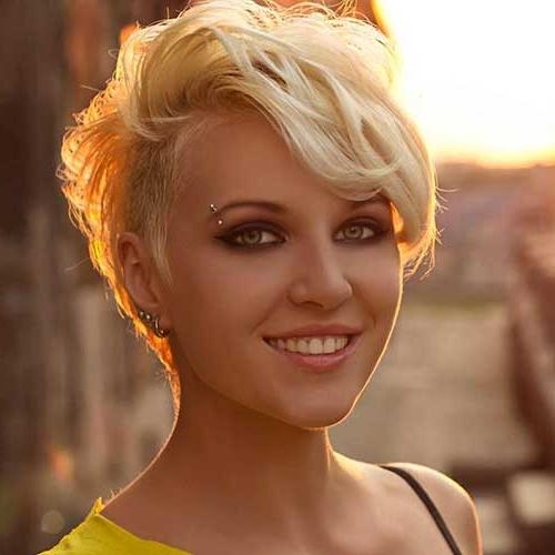 20+ Latest Short Hairstyles For Round Face Shape   Short Regarding Pictures Of Short Hairstyles For Round Faces (View 4 of 20)