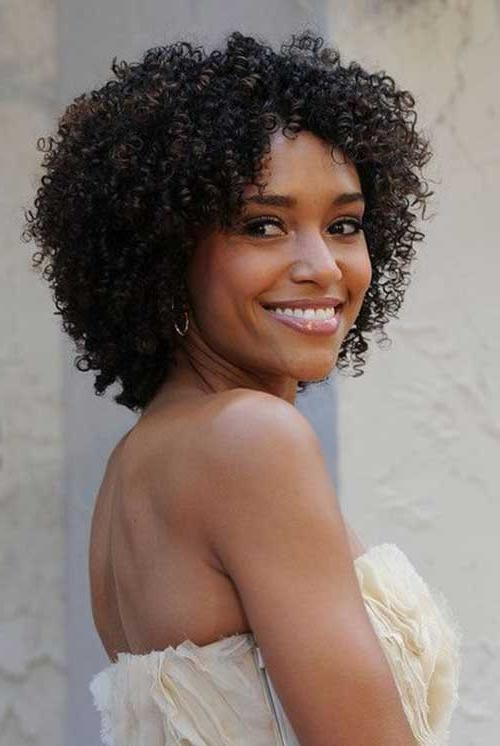 Photo Gallery Of Short Haircuts For Naturally Curly Hair Viewing 8