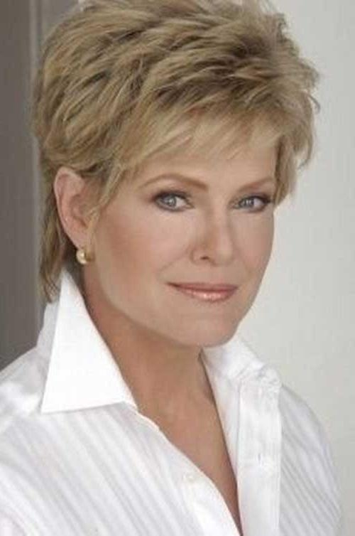 20 New Short Hair Cuts For Women Over 40 | Short Hairstyles Pertaining To Short Haircuts Styles For Women Over (View 16 of 20)