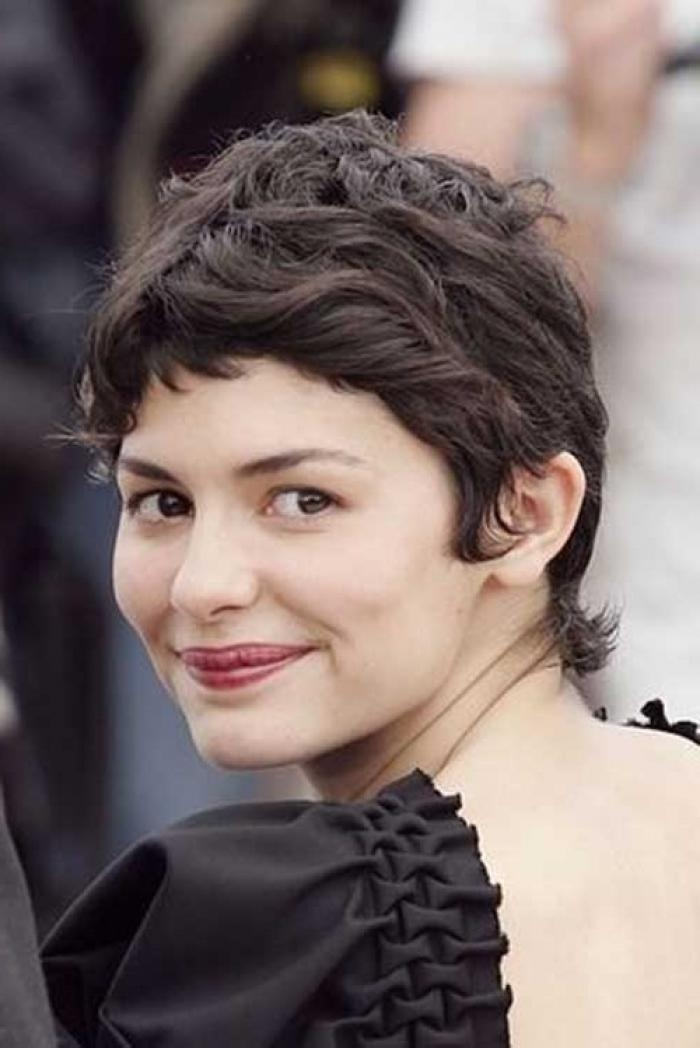 Audrey Tautou Short Curly Hair Short Curly Hair
