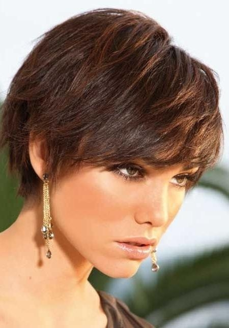 20 Popular Short Haircuts For Thick Hair – Popular Haircuts For Short Haircuts For Thick Straight Hair (View 6 of 20)