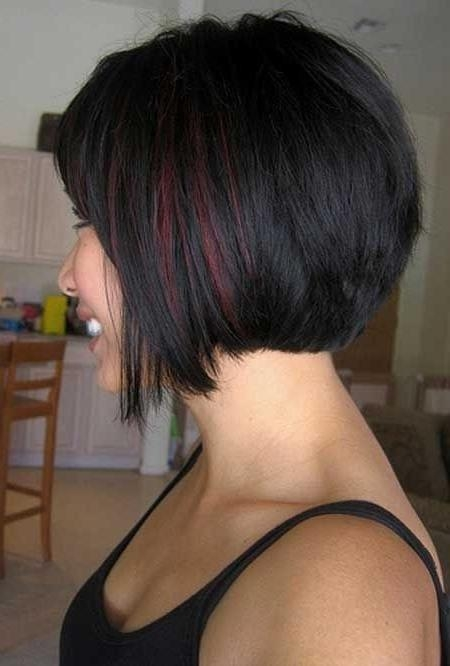 20 Popular Short Haircuts For Thick Hair – Popular Haircuts Regarding Short Haircuts Bobs Thick Hair (View 2 of 20)