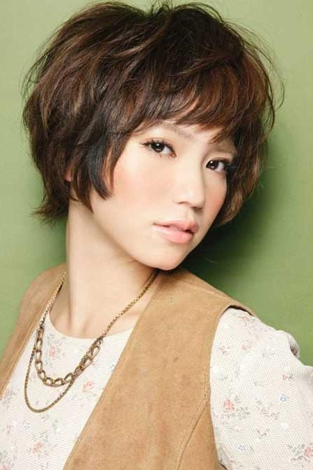 20 Pretty Short Asian Hairstyles | Short Hairstyles 2016 – 2017 With Regard To Layered Short Hairstyles With Bangs (View 4 of 20)