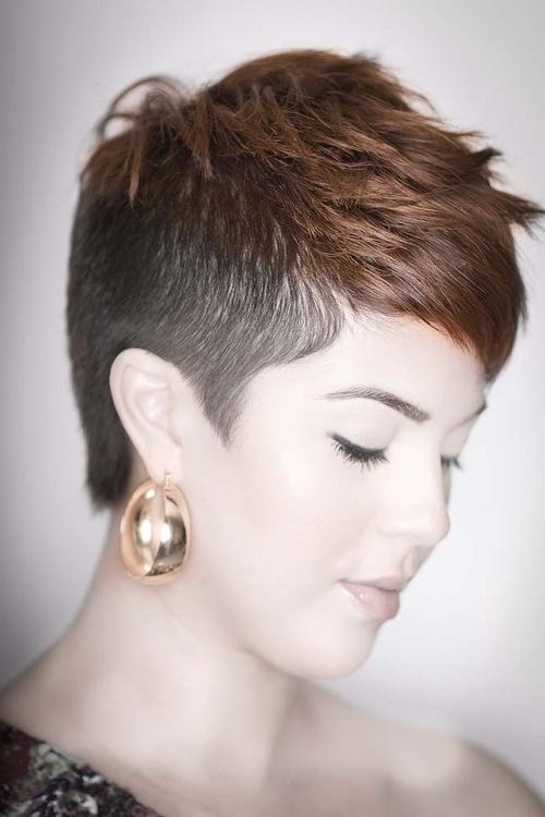 20 Shaved Hairstyles For Women – The Xerxes Pertaining To Short Hairstyles With Both Sides Shaved (View 2 of 20)