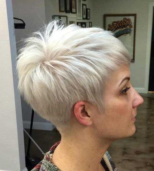 Photo Gallery of Choppy Short Haircuts For Fine Hair (Viewing 17 of ...