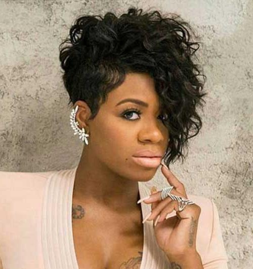 20 Inspirations Of Curly Black Short Hairstyles