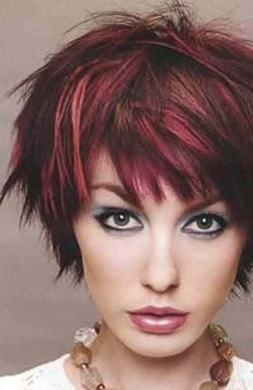 20 Short Hair Color For Women | Short Hairstyles 2016 – 2017 In Short Haircuts With Red And Blonde Highlights (View 4 of 20)