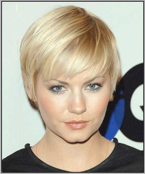20+ Short Hair For Round Faces | Short Hairstyles 2016 – 2017 Within Short Hairstyles For Thin Hair And Round Faces (View 2 of 20)