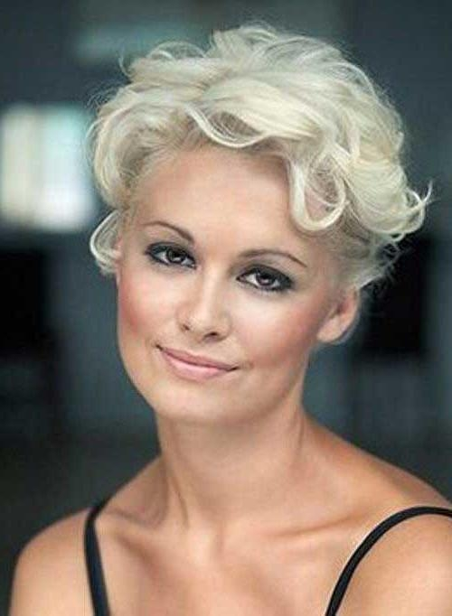 20 Short Hair For Women Over 40 | Short Hairstyles 2016 – 2017 For Platinum Blonde Short Hairstyles (View 9 of 20)