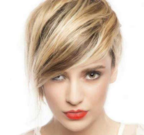 20 Short Hair With Fringe | Short Hairstyles 2016 – 2017 | Most Regarding Short Haircuts With Long Side Bangs (View 2 of 20)